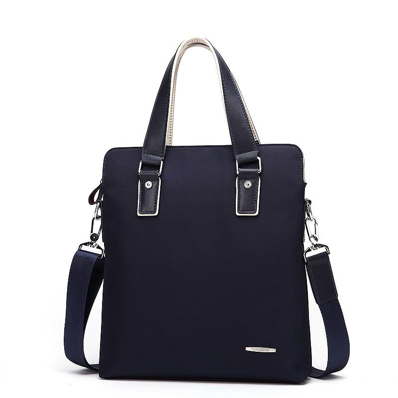 Bostanten Men' Handbag Vertical design Crossbody bags for Fashion men Waterproof Bag Messegner Laptop shoulder Nylon Hand Bag стоимость