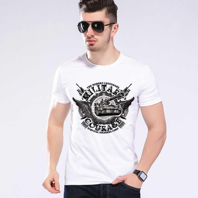 f66e1dfb1 Summer Style Funny World Of Tanks T Shirt Men Manufacture World War Tank T- shirt