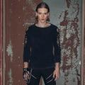 Diabo moda luva longa dos homens t-shirt nova marca fashional clothing 2016 steampunk gótico masculino aptidão streetwear preto s-3xl