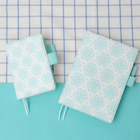 Lovedoki Snowflake A5A6 Planner Mint White Notebook Organizer Diary Monthly Weekly 2018 Agenda Gifts Wholesale Cute Stationery