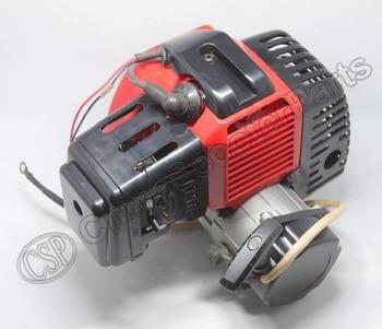 Motor de plástico de 49CC con arranque E de 15MM, Mini carburador de bolsillo para Mini ATV, Buggy Quad, Dirt Pit Bike, Moto de Gas Chopper