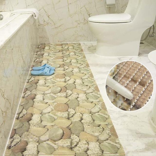 65 100cm pvc foam vloermatten verdikking bad plastic tapijt mat vloermat badkamer tapijt. Black Bedroom Furniture Sets. Home Design Ideas