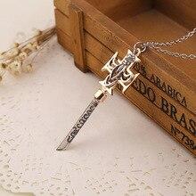 2017 The Da Vinci Code  Zinc Alloy Cross Pendant Necklace Men Jewelry  Vintage Cross Sword Pendant  Davinci Jewellery