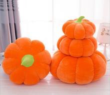 Pumpkin Cushion Halloween Pumpkin Pillow Soft Decorative Throw Pillow Cushion Seat Pillow Car Sofa Home Decoration Cushion