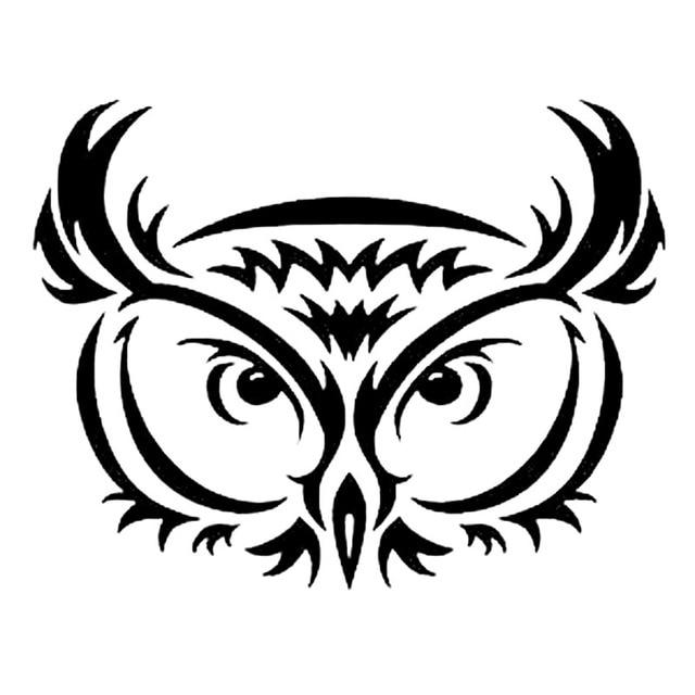 Aliexpresscom  Buy XCM TRIBAL OWL Personality Vinyl Decals - Owl custom vinyl decals for car