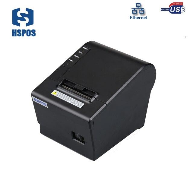 Высокая Скорость Мини POS 58 мм Билл принтера Поддержка проводной сетей печати Низкая Стоимость Тепловой квитанция для супермаркета