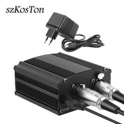 New 48V Microphone Phantom Power Supply With Adapter Microphone Phantom Power for Condenser Microphon Phantom Power