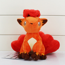 Vulpix Plush Toy Cute Vulpix Soft Stuffed Animals Toys Doll Gifts for Kids Children With Tag