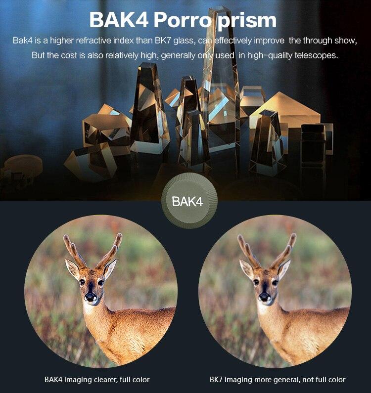 BAK4 OS3-0043 Optics Telescópio Para A Caça