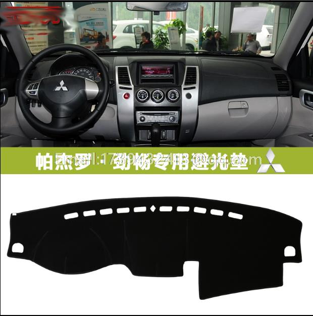 For Mitsubishi Montero Pajero 3 V77 V75 V73 2000-2006 Leather Dashmat Dashboard Cover Dash Carpet Custom Car Styling Lhd+rhd 2019 New Fashion Style Online Back To Search Resultshome