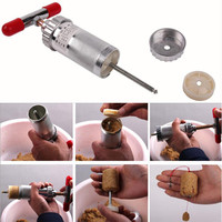 Aluminum Alloy Fishing Lure Shaper Compressor DIY Explosion Hook Bait Former Fishing Bait Forming Mold Device