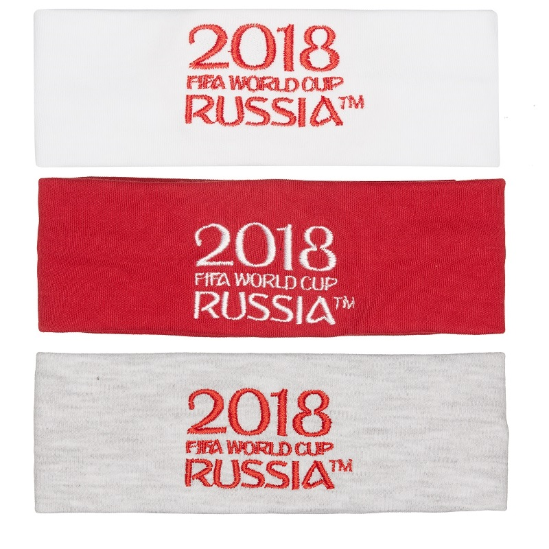 Headwear FIFA WORLD CUP RUSSIA 2018 for girls and boys F1-94k Headband bucket hat hair accessories 10pcs fashion girls hair band polka dot bow rabbit ears elastic hair rubber ponytail holder hair accessories for women headband