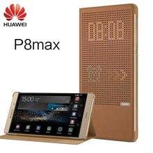Huawei P8 Max чехол 100% оригинальный окна Смарт Флип кожаный Стенд защитный чехол Обложка Услуга сна чехол для Huawei P8 Max 6.8»