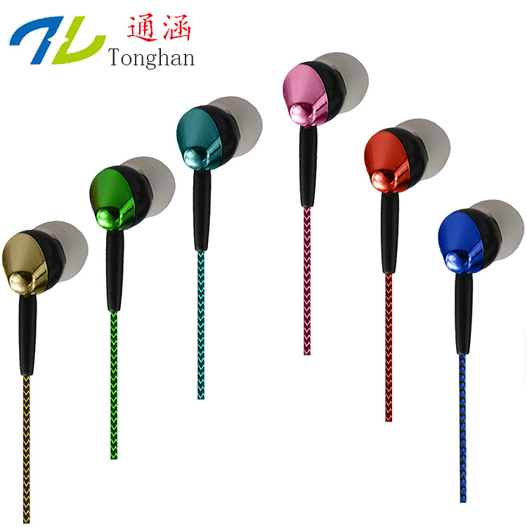 OB05 Fashion Earphones Headsets Stereo Earbuds Sports For mobile phone MP3 MP4 For phone