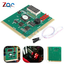 4 Digit LCD Display PC Analyzer Diagnose Karte Motherboard Post Tester Computer Analyse PCI Karte Networking Tools