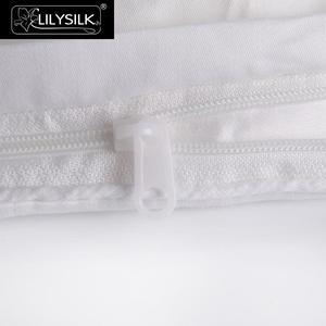 Image 4 - LilySilk pocieszyciel kołdra jedwabna letnia bawełna pokryta czysta 100 jedwab naturalna kołdra długi nici floss koc luksusowa królowa