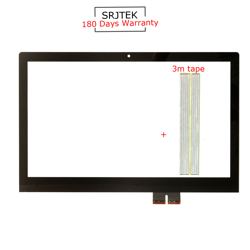 For New Lenovo Flex 2 15 Flex 2-15 Replacement Touch Screen Digitizer Glass Panel 15.6-inch Black jrled e27 12w 1000lm 3300k 60 smd 2835 led warm white horizontal lamp white silver ac 85 265v