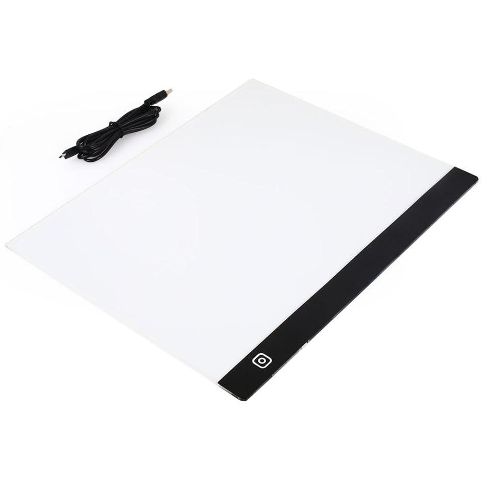 А3 Планшет для рисования цифровой графический планшет светодиодный световой рисунок калькирование, копирование цифровой планшет коврик ху...