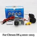 Câmera de Visão traseira Para Citroen DS4 DS 4 2010 ~ 2015/RCA AUX com fio Ou Sem Fio/de Backup CCD de Visão Noturna HD Lente Grande Angular câmera