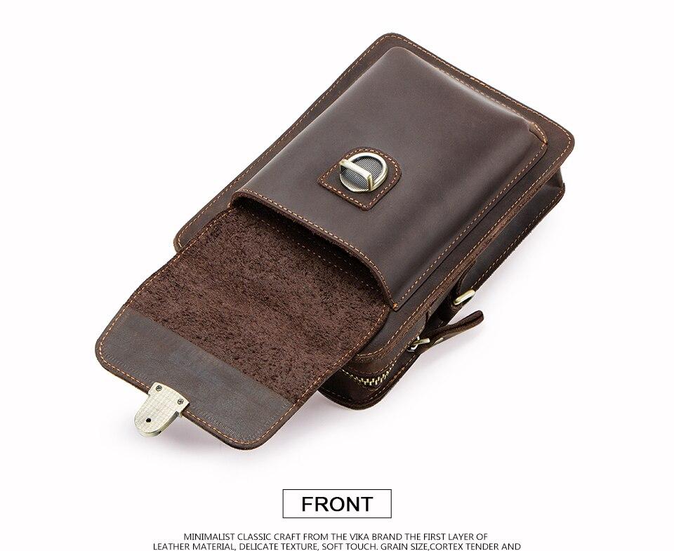 cintura masculino sacos de telefone com titular