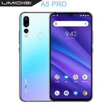 "Umidigi A5 Pro Android 9.0 Octa Core 32 Gb 6.3 ""Fhd + Waterdrop 16MP Triple Camera Dual 4G 4150 Mah 4 Gb Ram 4G Celular Smartphone(China)"