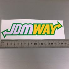 JDM Car sticker For Styling hellaflush remoulded car stickers and decals swervers JDMWAY Sticker Bomb