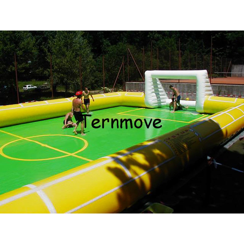 inflatable soccer arena,outdoor inflatable football pitch,inflatable soccer field for Gym, Inflatable Sport football field free shipping free pump portable inflatable soccer field inflatable football court inflatable football field for sale