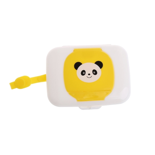Portable Baby Wipe Case Box Outdoor Stroller Kids Wet Wipes Dispenser Tissue Box Baby care