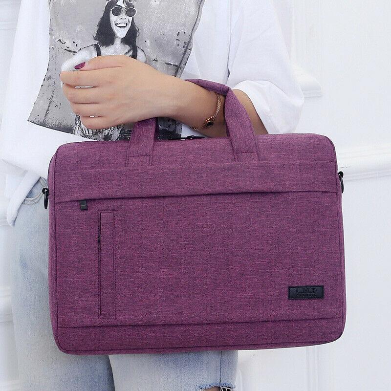 Fashion Men's Women's Universal Laptop Bag Travel Portable Briefcase Tote Shoulder Bag 3 Size