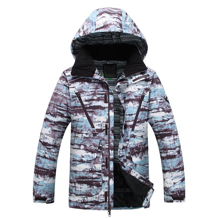 Men Winter Warm Ski Snow Suit Windproof Clothes Snowboarding Coat Jacket 2016 New Arrival! 2016 hot child girl winter outdoor ski snow windproof hiking warm jacket coat new