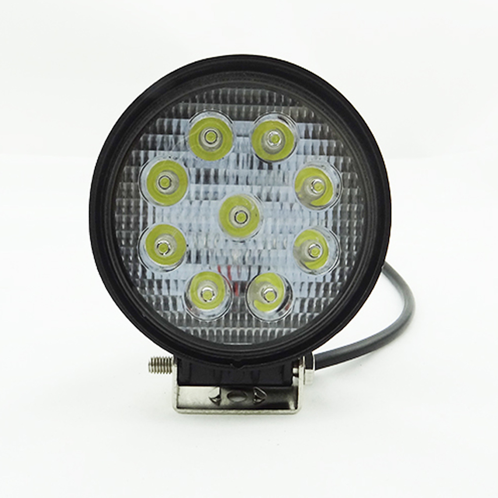 2pcs 4 inch 27W LED Work Light Bar Indicators Spot Driving Offroad Boat Car Tractor Truck 4x4 SUV ATV Flood 12V 24V Working Lamp