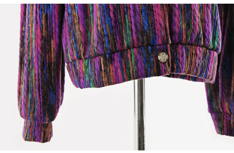 HTB1OgZhLgHqK1RjSZJnq6zNLpXa2 Runway Designer Chromatic Cashmere Women Jacket Coat 2019 Spring Single Breasted Long Sleeve Casual Slim Outerwear
