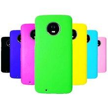 Phone Case sFor Fundas Motorola Moto G6 case For Coque Candy Color Hard plastic PC cover phone cases