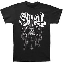 Authentic GHOST Band Papa Wrath T-Shirt S M L XL 3XL NEW  Hip Hop Novelty T Shirts Men'S Brand Clothing Top Tee женская футболка brand new m xl ap782