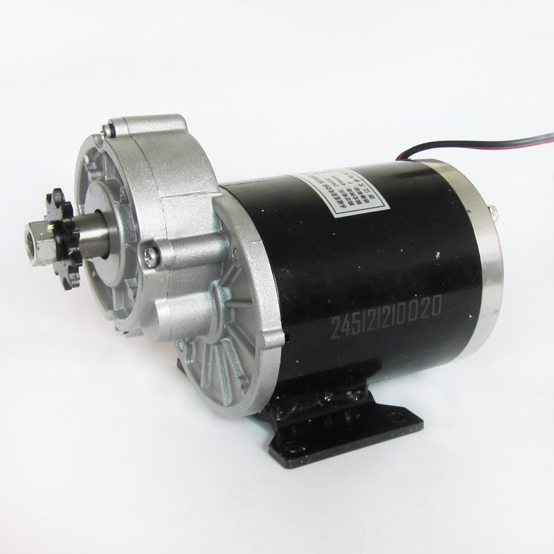 Brush Motor 24V 450W Decelerating Motor for Electric Tricycle Scooter Unite Motor
