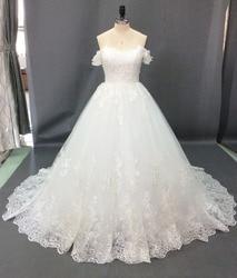 Vestido de Noiva 2019 Princess Wedding Dresses Off Shoulder Applique Lace Sweetheart Beads Ball Gown Bridal Dress Robe De Mariee 2