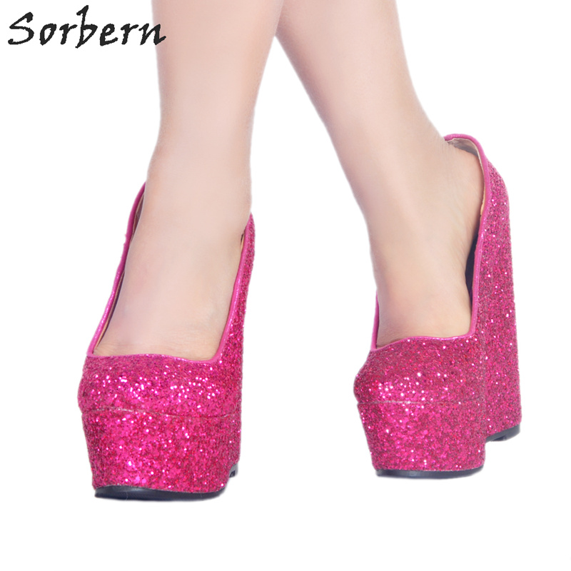 Sorbern Red Strange Style Wedges Women Sandals With Heels Size 10 High Heel  Platforms Cross-Strap 16Cm Luxury Dress Shoes WomanUSD 101.37 pair 40aae3e9354e