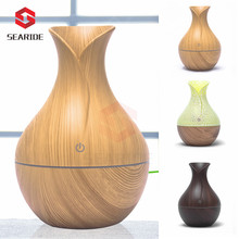 130ML Mini Air Humidifier Ultrasonic Aroma Diffuser Aromatherapy USB Charge Air Purifier 7 Color LED Night Light For Home Office цена и фото