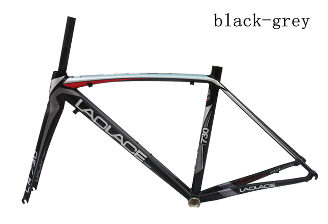 100% Original laplace Bicycle TCR Composite alloy frame Carbon fork ...