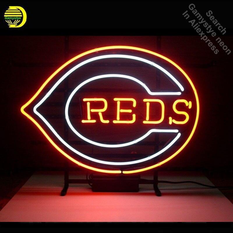 Enseigne au néon pour CR enseigne Tube néon artisanat rouge décorer Bar à bière pub signe emblématique chambre Art lampe super lumineux lumière néon mot lumière