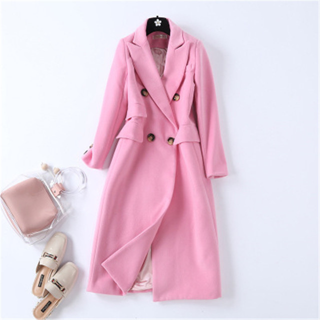 pink wool coat 2