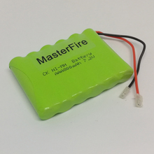 MasterFire 3PACK/LOT New Original 7.2V AAA 800mAh Ni-MH Battery Pack Rechargeable Batteries