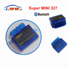 2018 Newest  Mini ELM327 ODB2 Bluetooth Adapter ELM 327 V2.1 Auto Diagnosis OBD2 Scanner for Android Torque Best Price