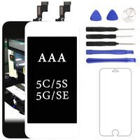 Mobile Phone Part For Iphone 5 5S 5C SE LCD Display AAA With Touch Screen Digitizer