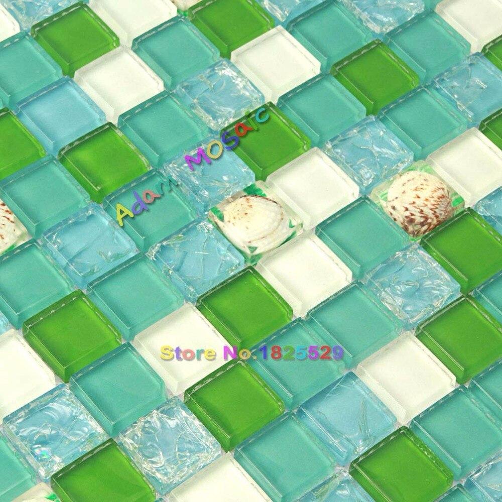 Grüne Wand Fliesen Küche Back Ozean Blau Knistern Glas Fliesen Meer ...