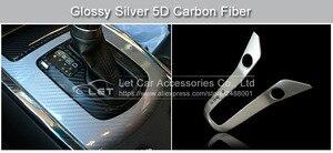 Image 5 - Car Styling wysoki połysk 5D srebrna folia winylowa z włókna węglowego z włókna węglowego arkusz folii samochodowej folia zwiajana narzędzie samochód naklejka naklejka