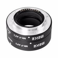 Meike MK F AF3 금속 자동 초점 매크로 확장 튜브 10mm 16mm FUJIFILM X Pro2 XT1 XA1 XA2 X70 XE1 X30 X70 XM1 XM10 X Pro1