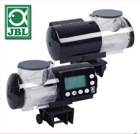 LCD Display JBL AUTOFOOD White Black Automatic Feeder Granule Food Machine for Aquarium Fish Tank-in Filters & Accessories from Home & Garden    3