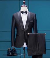 Новые модные свадебные Лучший мужчина дружки невеста жених костюм для выпускного смокинги Для мужчин формальные Блейзер Куртка + жилет + шт