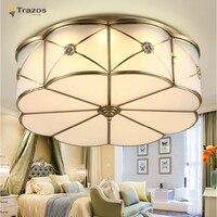 Ретро Винтаж промышленных стиль Edison стекло потолочный светильник лампа для спальня гостиная E27 дома ресторан кафе украшения